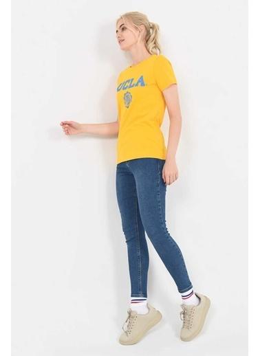 UCLA Tişört Sarı